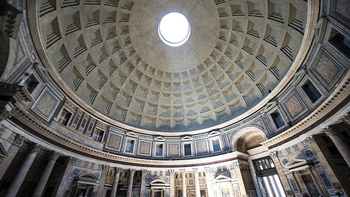 Pantheon. Interno
