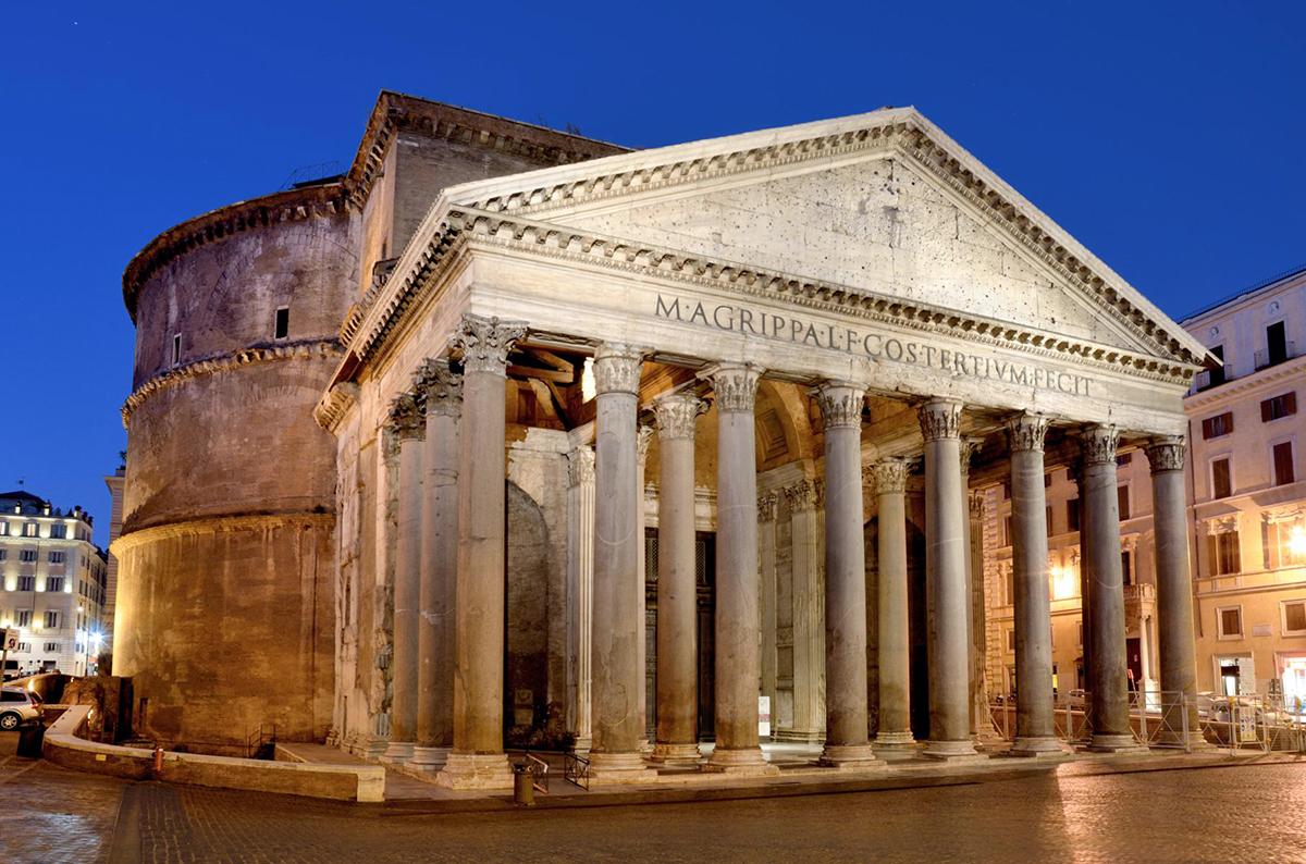 Pantheon una delle meraviglie di roma costruito pi di 1800 anni fa - La finestra di fronte roma ...