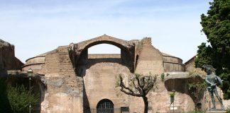 Terme di Diocleziano. Veduta esterna del Museo Nazionale Romano