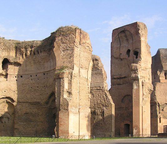 Terme di Caracalla. Veduta esterna