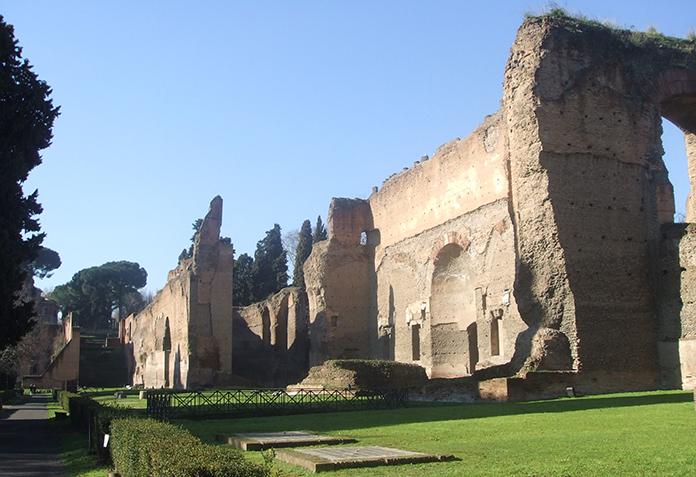 Terme di Caracalla. Rovine