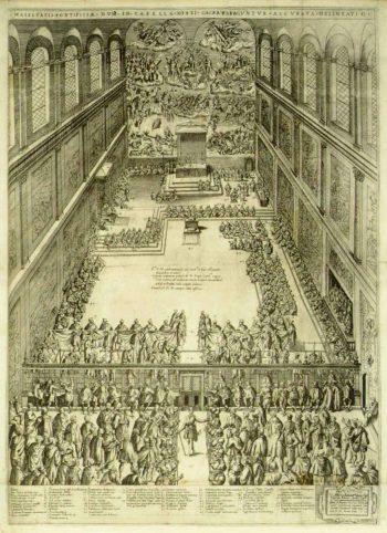Messa nella Cappella Magna in Vaticano (Cappella Sistina)